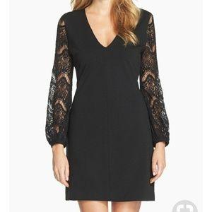 Kut lace sleeve dress